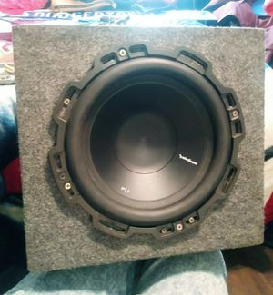 """Rockford 12"""" subwoofer for Sale in Los Angeles, CA"""