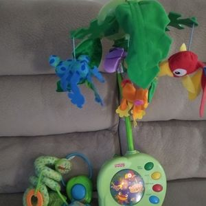 Baby Toy Animal Mobile For Crib for Sale in Livonia, MI
