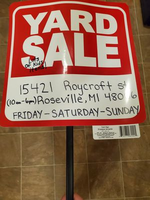 Kids stuff, woman's clothes and more for Sale in Roseville, MI