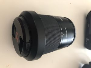 Sony a200 camera with 50mm lens and a 75-300mm lens for Sale in Rockville, MD