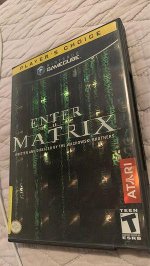 GameCube Enter The Matrix for Sale in Chula Vista, CA