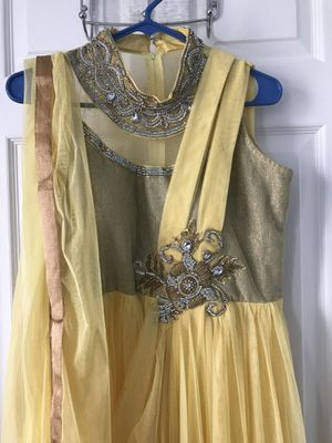 Yellow Indian dress for Sale in Nashville, TN