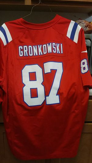 Selling my patriots jersey gronkoski for Sale in Los Angeles, CA
