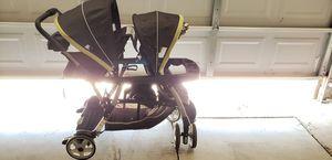 Graco double car seat stroller for Sale in Edmond, OK