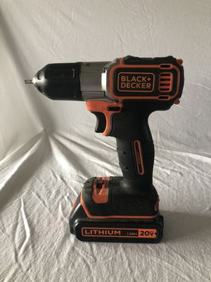 Black & Decker Drill Auto Sense Technology BDCDE120C for Sale in Armstrong, IA