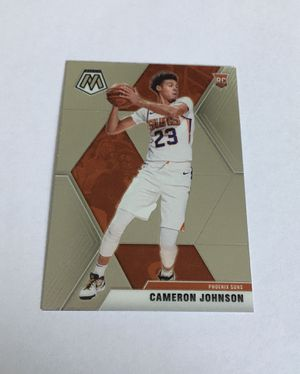 Cameron Johnson 2019-20 Panini Mosaic Rookie Card RC #203 Phoenix Suns NBA Base for Sale in Tolleson, AZ