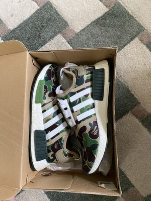 Adidas NMD R1 Bape Olive Camo for Sale in Lakewood, CA