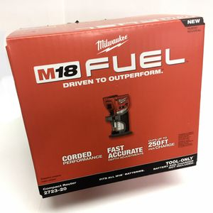 NEW! Milwaukee M18 FUEL Compact Router 18v 18 volt Cordless 2732 20 21 22 2732-20 for Sale in Vancouver, WA