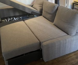 IKEA COUCH FRIHETEN Sleeper sectional,3 seat w/storage for Sale in Los Angeles,  CA