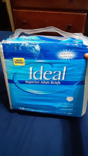 New Adult diapers size L for Sale in San Jose, CA