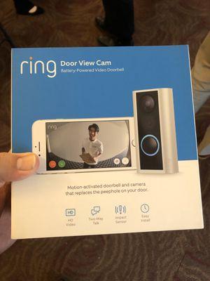 RING Peephole Doorbell Camera for Sale in Sunrise, FL
