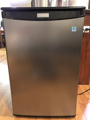Danby 4.4 cu. ft. Mini All Refrigerator in Stainless Steel Fridge Small Cooler for Sale in Chicago, IL