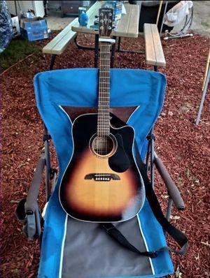 Alvarez dreadnought cutaway acoustic-electric guitar for Sale in Redlands, CA