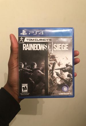 Rainbow 6 Seige for PlayStation 4 for Sale in Williamsport, PA