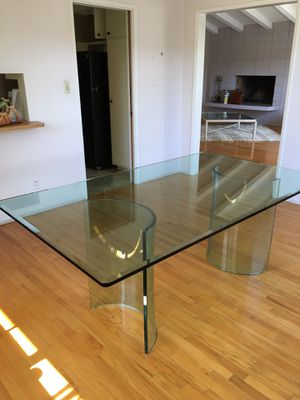 A lovely glass table for Sale in Rancho Palos Verdes, CA