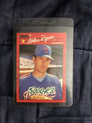 Nolan Ryan vintage donruss collectible card for Sale in Culver City, CA