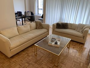 Cream Colored Couch Set for Sale in Washington, DC