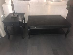 Crate and Barrel Coffee and End Table for Sale in Ashburn, VA