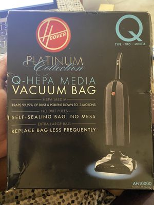 Hoover vacuum replacement bags for Sale in Miami, FL