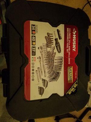Husky tool set 111pc for Sale in Phoenix, AZ