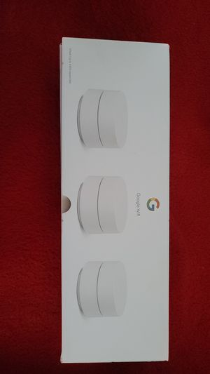 Google wifi router new in box for Sale in Fort Mill, SC