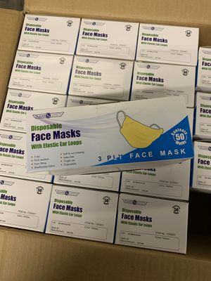 Box of 50 face masks for Sale in South Gate, CA