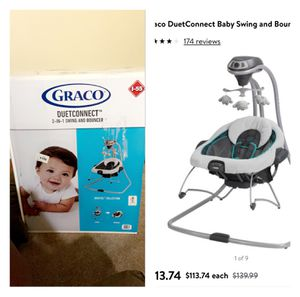 GRACO BABY SWING & BOUNCER IN ONE for Sale in Roseville, MI