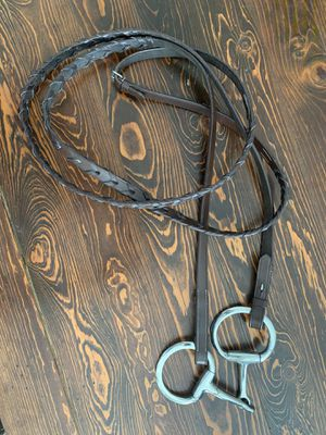 "Paris Tech English Braided Reins with 5"" snaffle bit for Sale in Apache Junction, AZ"