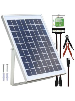 12V Solar Panel Charger Kit+8A Controller,Suitable for Automotive, Motorcycle, Boat, ATV, Marine, RV, Trailer, Powersports, Snowmobile etc. Various 1 for Sale in Euless, TX
