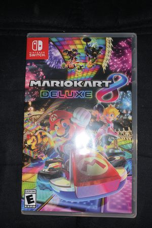 Brand new sealed Mario kart 8 deluxe Nintendo switch for Sale in Nuevo, CA