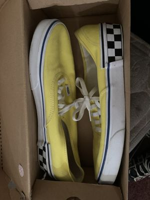 Yellow Checker Vans for Sale in Greenville, NC