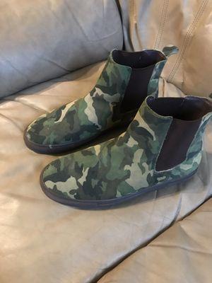 Steve Madden casual fatigue boots Men for Sale in Atlanta, GA