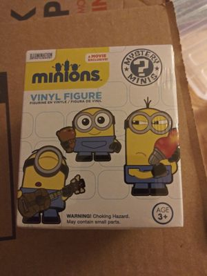 Minions vinyl figure Despicable Me for Sale in Gaithersburg, MD