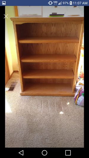 Real oak bookshelves for Sale in Albany, OR