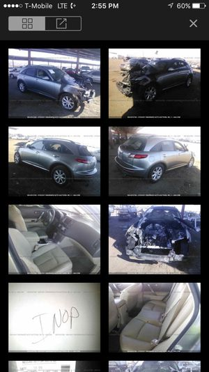 2008 Infiniti fx parting out for Sale in Phoenix, AZ