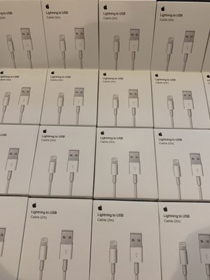 APPLE USB CHARGING CABLE 2M (BRAND NEW) for Sale in Rosemead, CA