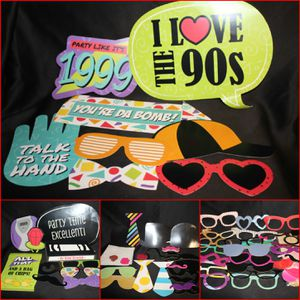 Photo Booth Props 90's themed for Sale in London, KY