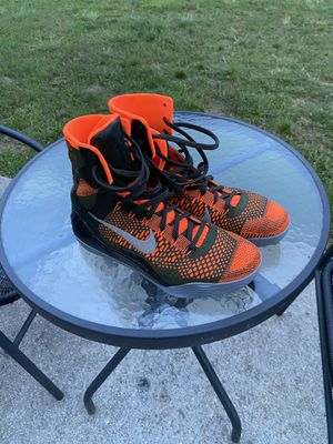 Kobe Nike Kobe 9 IX Elite Strategy Sequoia Size 10 Basketball Shoes for Sale in Atlanta, GA