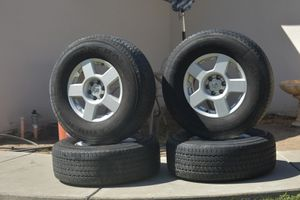 2005 nissan frontier wheels and tires for Sale in Santa Maria, CA