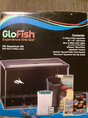 5 Gallon Fish Tank for Sale in Tyler, TX