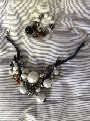 Betsey Johnson necklace and bracelet for Sale in Seattle, WA