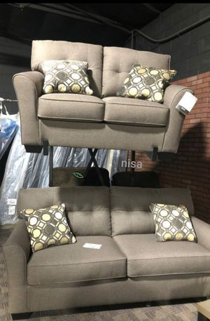 🍒 BEST Offer SPECIAL] Tibbee Slate Living Room Set 76 for Sale in Jessup, MD