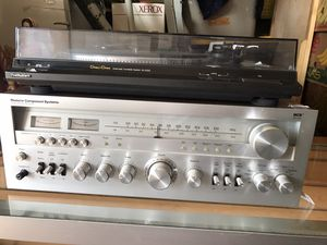 MCS Series 3233 Stereo Receiver and Technics Turntable SL-DD22 for Sale in Los Angeles, CA
