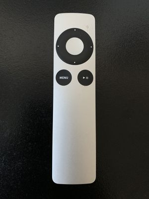 Genuine factory Apple Remote for AppleTV, Macbook, Mini A1294 MC377LL/A IR for Sale in Gilroy, CA