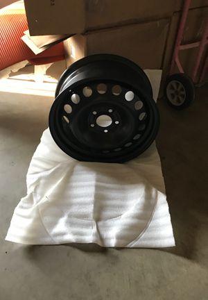 "4 Black 16"" Malibu HHR Lug Steel wheel Rims for Sale in Ontario, CA"