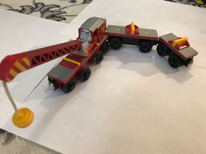 THOMAS and Friends. Wooden Railway Tank Engine - ROCKY CRANE for Sale in New York, NY