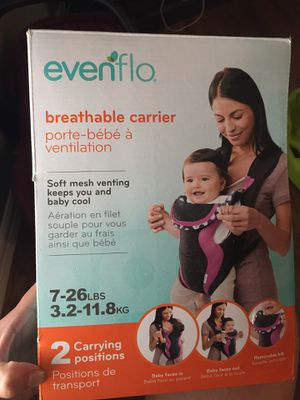 Evenflo Baby Carrier for Sale in Houston, TX