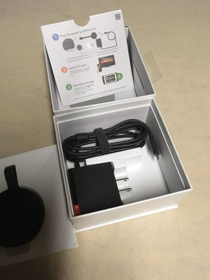 Google chrome cast ultra 4K new Price 60 On the box for Sale in Riverside, CA