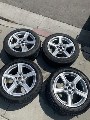 18-inch Chevy Camaro Stock OEM Wheels & Tires with Black RIM Covers for Sale in Huntington Park, CA