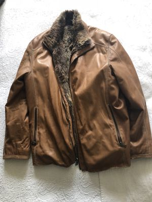 Soft, Genuine Leather and Fur Lined Andrew Marc Jacket - Like New for Sale in New York, NY